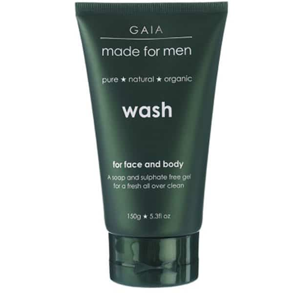 Gaia Made for Men - Wash for Face & Body, 150 ml