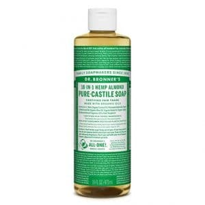 Dr Bronner's - Pure-Castile Liquid Soap Almond, 475 ml-0