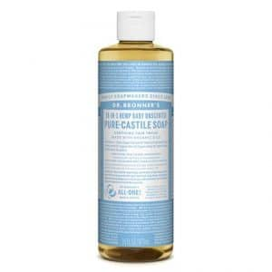 Dr Bronner's - Pure-Castile Liquid Soap Baby Unscented, 475 ml-0