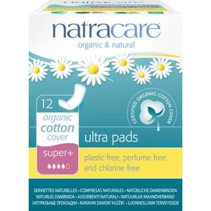 Natracare - Ekologisk ultratunn binda Super Plus, 12-pack-0