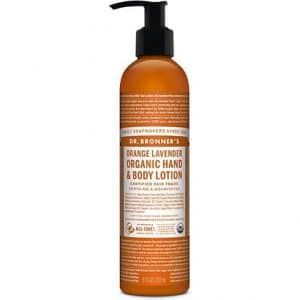 Dr Bronner's - Hand & Body Lotion Orange Lavender, 240 ml-0