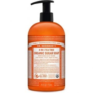 Dr Bronner's - Organic Sugar Soap Tea Tree, 355 ml-0