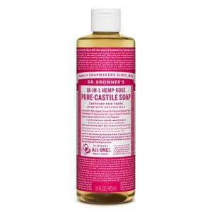 Dr Bronner's - Pure-Castile Liquid Soap Rose, 475 ml-0