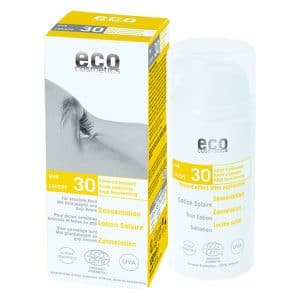 Eco Cosmetics - Ekologisk Sollotion SPF 30, 100 ml-0