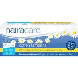 Natracare - Ekologisk tampong Super, 20-pack-0