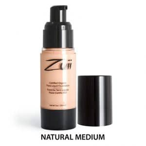 Zuii Organic - Liquid Foundation Natural Medium-0