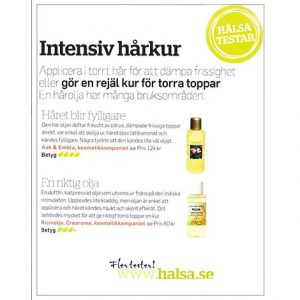 Ask & Embla - Håroljekur Repair Ricin EKO, 150 ml-1729
