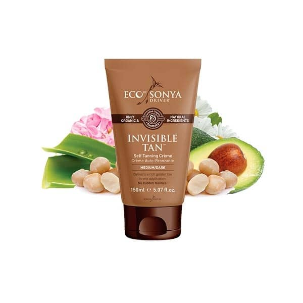 Eco By Sonya - Invisible Tan Self Tanning Créme, 150 ml