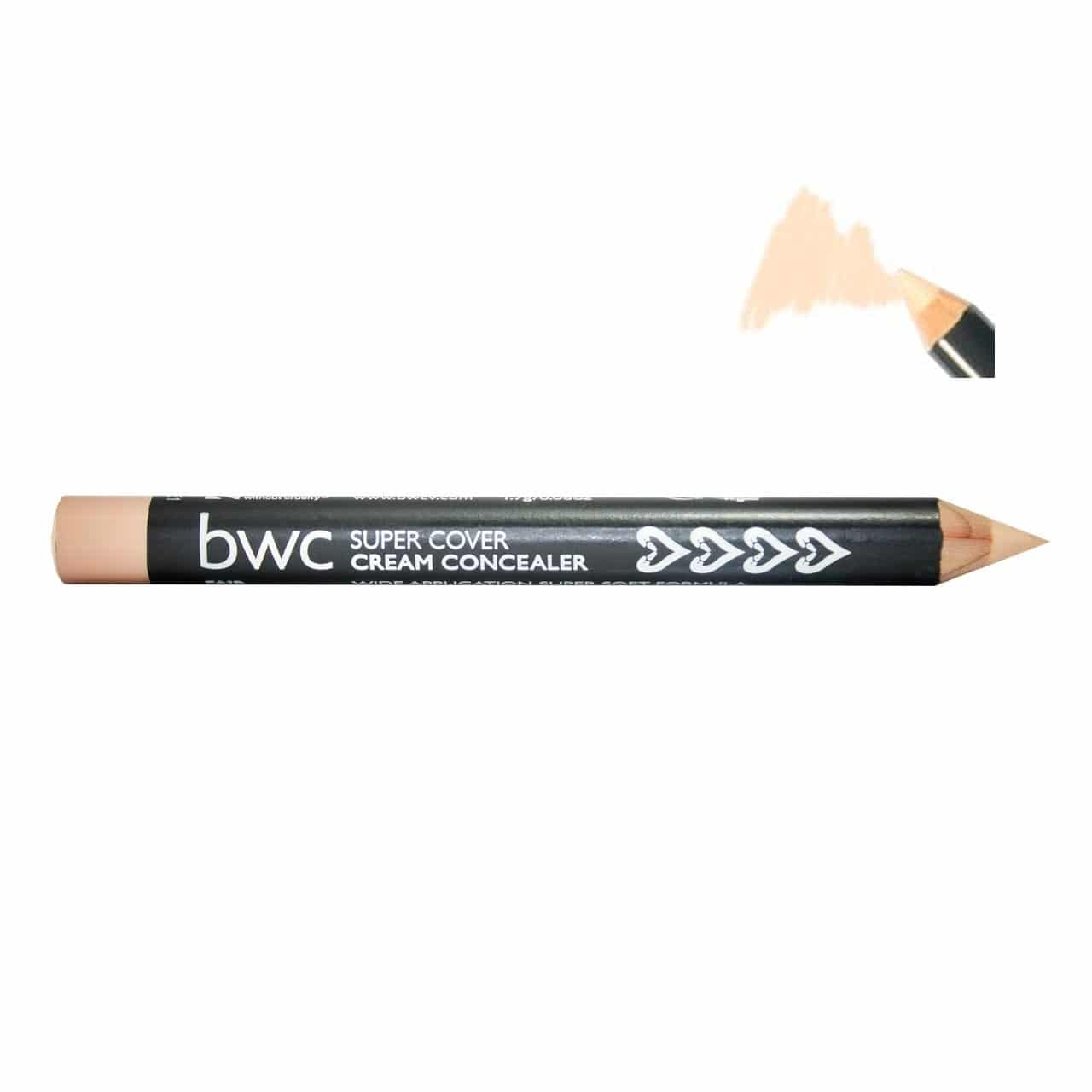 Beauty Without Cruelty - Super Cover Cream Concealer, 4 gr