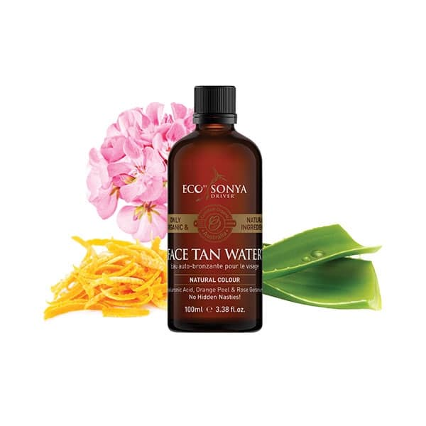 Eco By Sonya - Face Tan Water, 100 ml