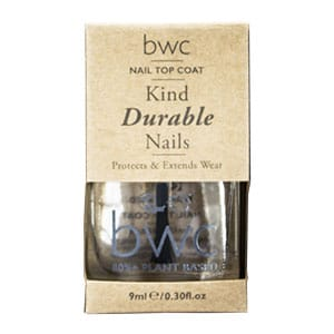 Beauty Without Cruelty - Kind Caring Nails Top Coat, 9 ml-8798