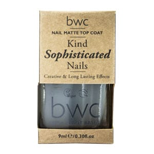 Beauty Without Cruelty - Kind Caring Nails Matte Top Coat, 9 ml-8806
