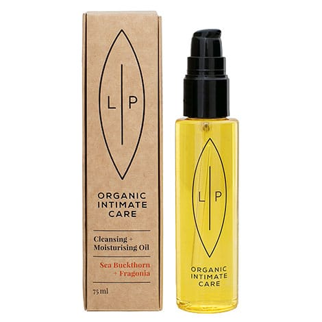 Lip Intimate Care - Cleansing + Moisturising Oil Sea Buckthorn + Fragonia, 75 ml