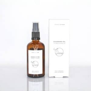 Organics by Sara - Cleansing Oil Eye Makeup Remover, 100 ml-10313
