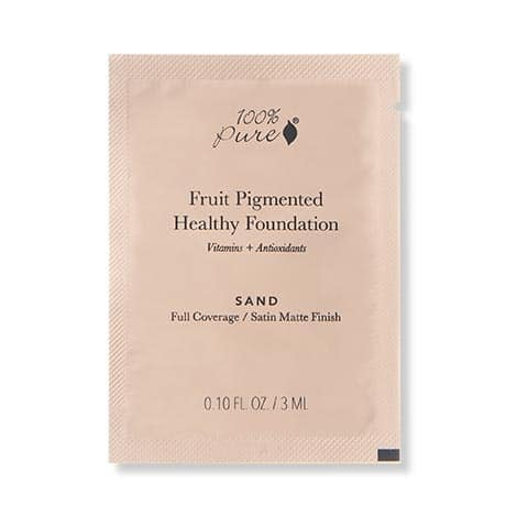 100% Pure - Fruit Pigmented Healthy Foundation TEST 3 ml