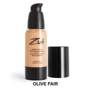Zuii Organic - Liquid Foundation Olive Fair-0