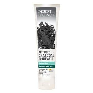 Desert Essence - Activated Charcoal Toothpaste, 176 gr-0