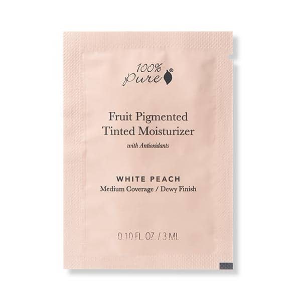 100% Pure - Fruit Pigmented Tinted Moisturizer TEST 3 ml