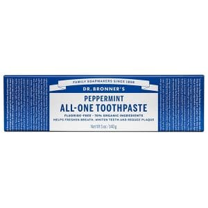 Dr Bronner's - All-One Toothpaste Peppermint, 140 gr-10855