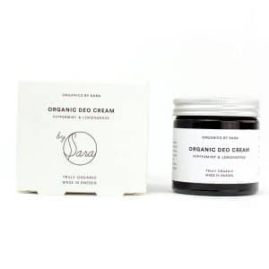 Organics by Sara - Organic Deo Cream Peppermint & Lemongrass, 60 ml-0