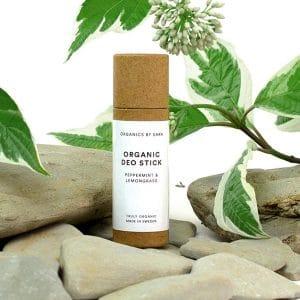 Organics by Sara - Organic Deo Stick Peppermint & Lemongrass, 10 ml-10904