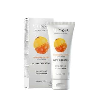 Mossa - Glow Cocktail Brightening hydro mask, 60 ml-0
