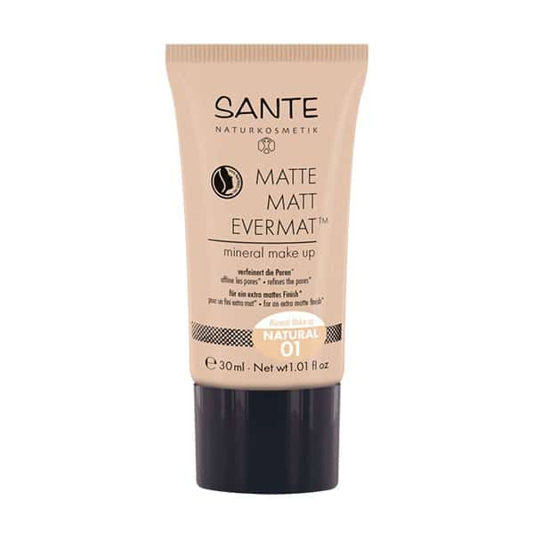 Sante - Matte Matt Evermat Mineral Make Up, 30 ml