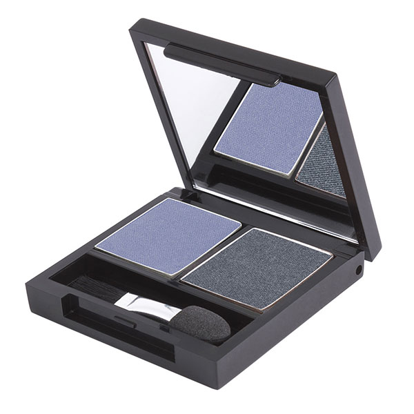 Zuii Organic - Duo Eyeshadow Palette Denim